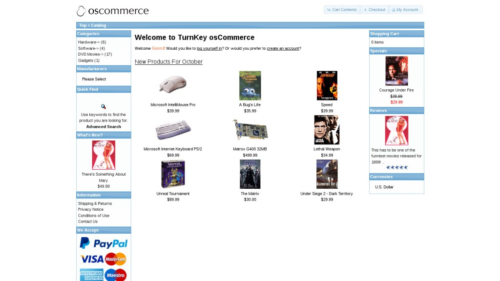 10 Best eCommerce CMS 6