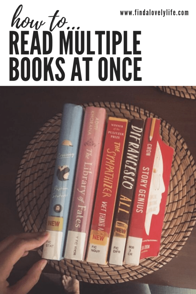 read multiple books at once