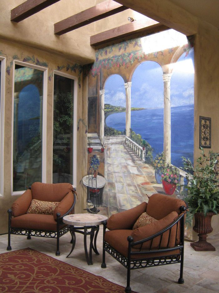 Exterior Outdoor Painting  Murals  Mural Photo Album By