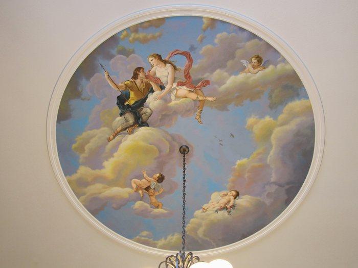 Ceilings  Mural Photo Album By Jeff Raum Studios