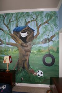 Children Murals and Decor Ideas #4000 - Mural Photo Album ...