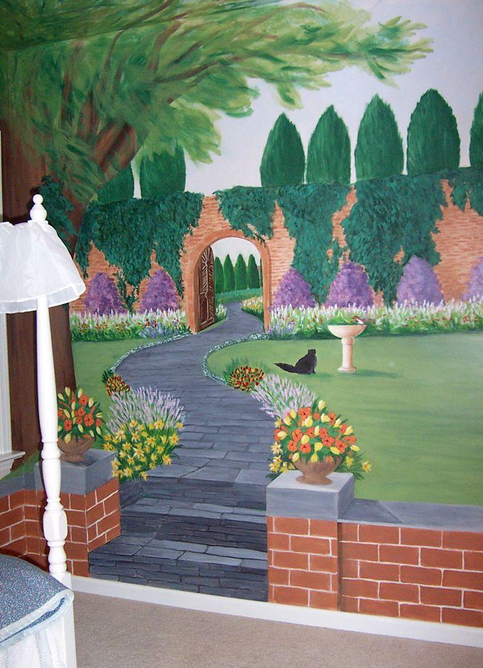CHILDRENS ROOMS  Mural Photo Album By Robin Puckett