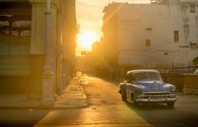 POW: Sunrise in Havana streets