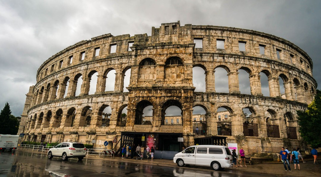 exterior-of-pula-arena-roman-amphitheatre