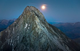 POW: Bad Moon Rising Over Mount Parrish
