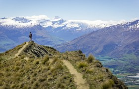 New Zealand: Climbing Roy's Peak in Wanaka