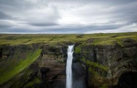 POW: Haifoss Waterfall in Iceland