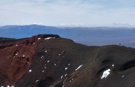 POW: Walking on the Edge of the Red Crater