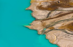 POW: Lake Louise from Above