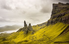 POW: Stormy Weather over Old Man of Storr