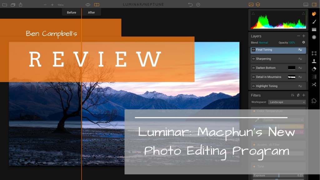 Review of Luminar Photo Editing Software