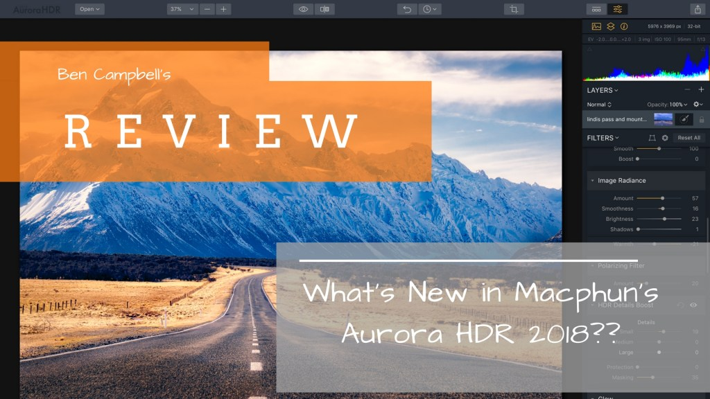 Review of Aurora HDR 2018 Whats New