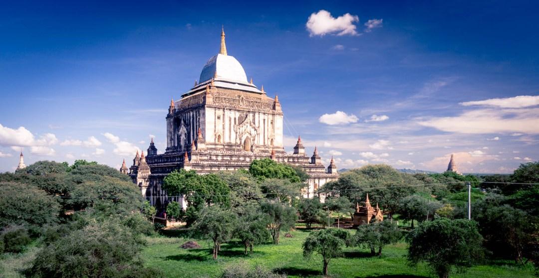Gawdaw Palin Temple in Bagan