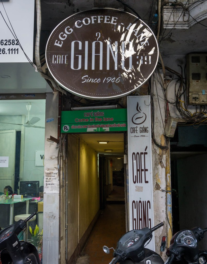 Giang Coffee Sign