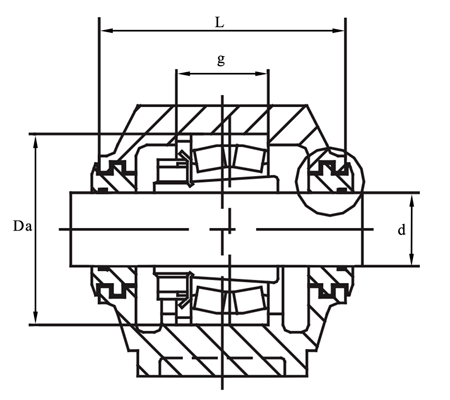 SNG515-612 housing – Find bearing net