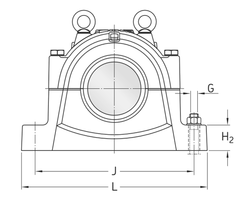 SNL3172 plummer block housing – Find bearing net