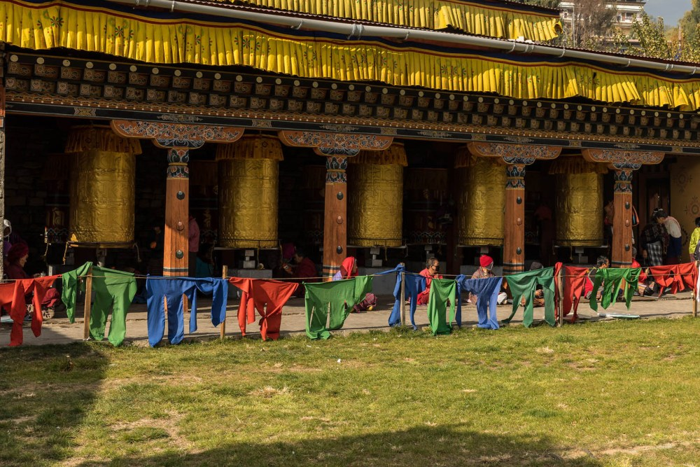 Memorial Chorten Prayer Wheel