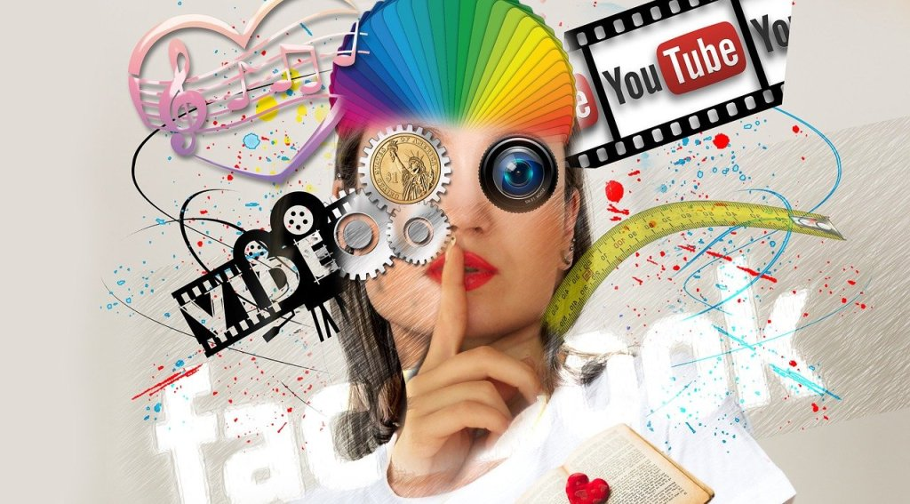 interaction, social media, abstract