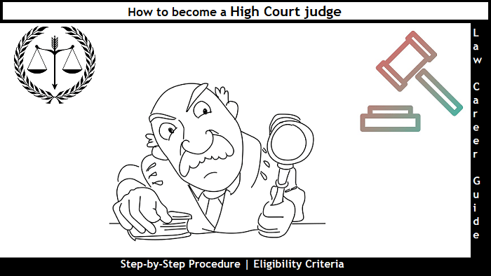 How to become a High Court judge
