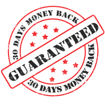 online course 30 days money back guarantee