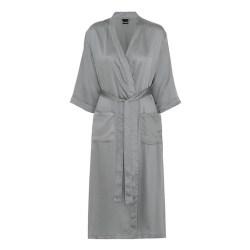 Bambus kimono - lang model - light grey