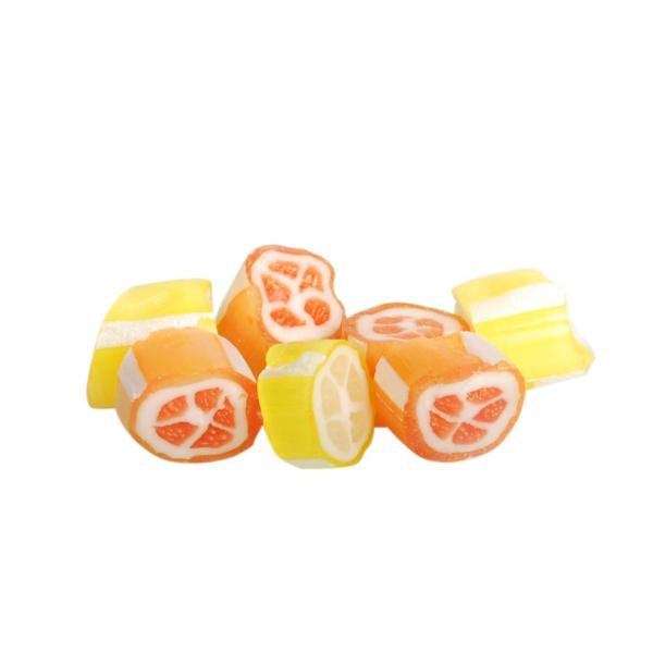 Citron/Appelsin Bolcher