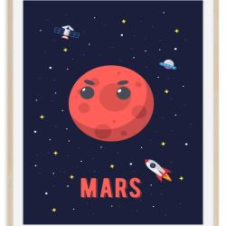 Mars - rumplakat