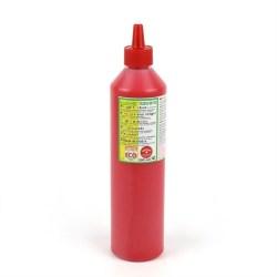 Naturlig fingermaling fra ÖkoNORM - 500 ml. - Rød