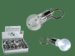 Nøglering med LED-lys