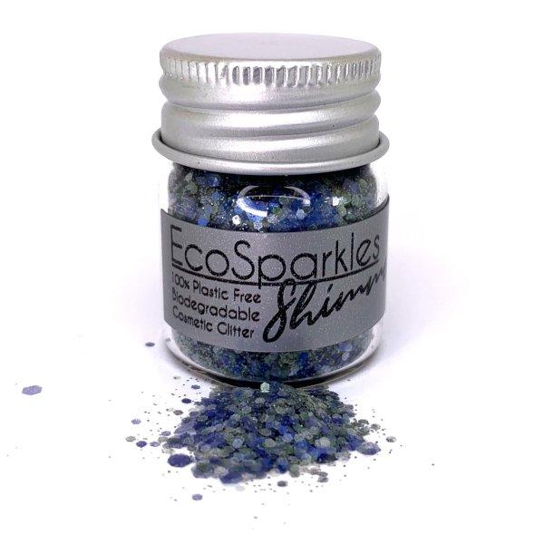 EcoSparkles Bionedbrydeligt glimmer - Pacha
