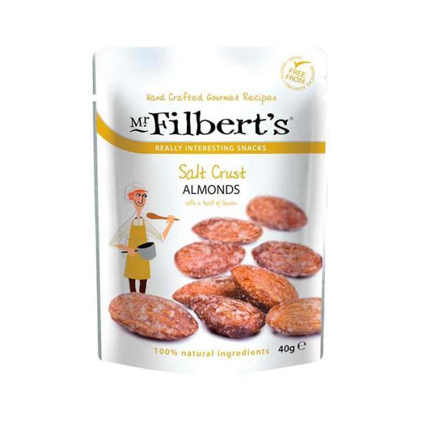 Saltede Mandler, 40 gr. - Mr. Filberts