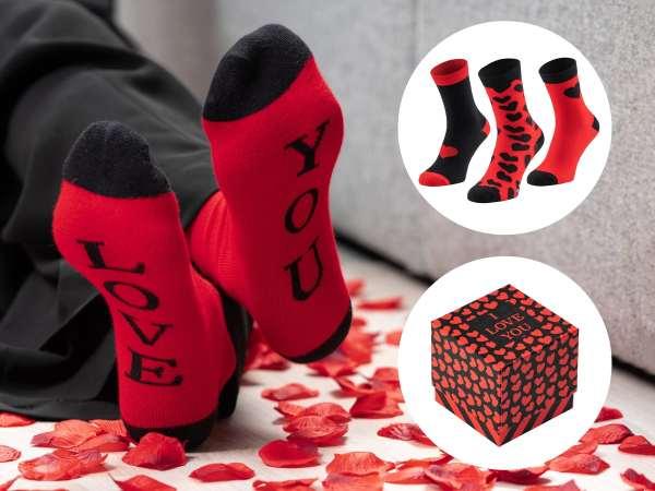 Valentine Socks str. 37-40 (3-pak)