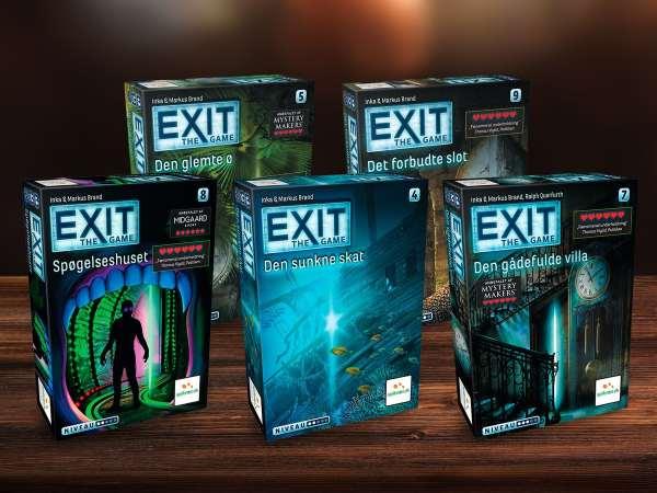 EXIT 3: Faraos gravkammer