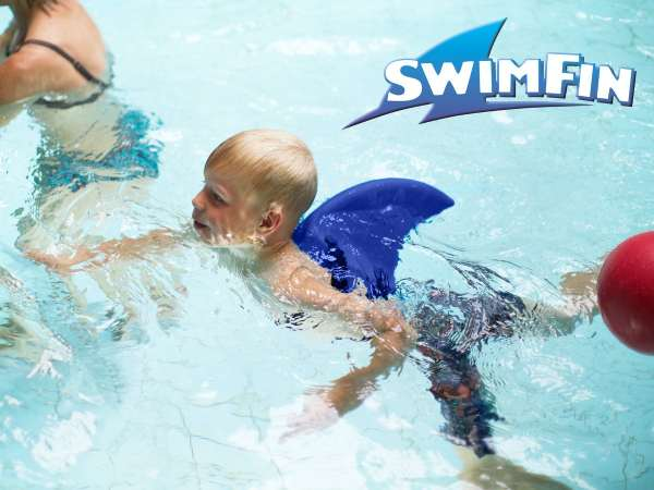 SwimFin Lysegrå