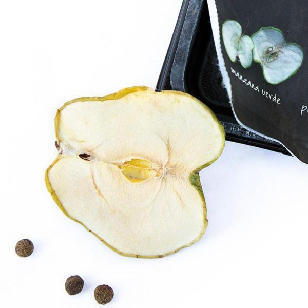 Garnic - tørret grøn æble og Jamaica peber til drinks