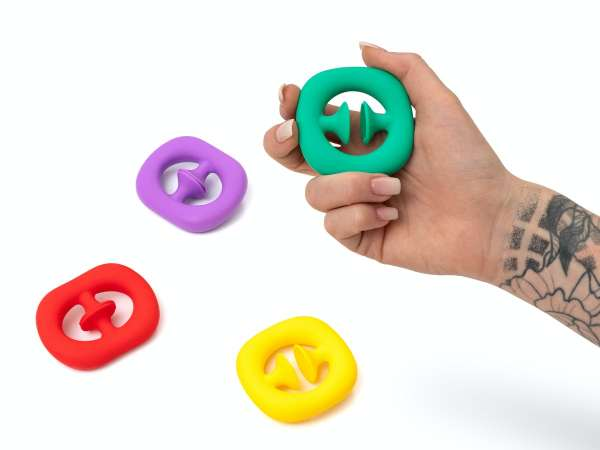 Plop it! Fidget toy - Regnbuefarvet