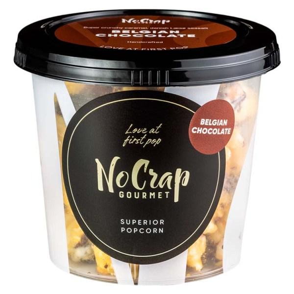 Popcorn med Belgisk chokolade, No Crap