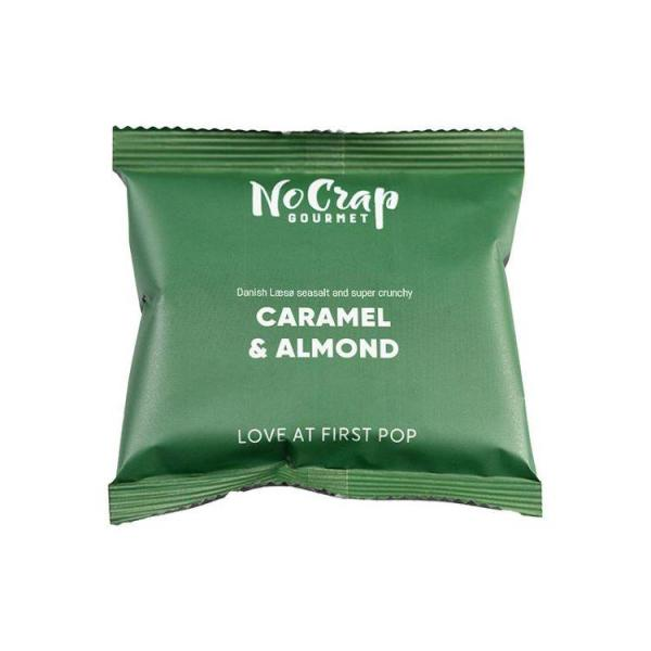 Popcorn med Mandel & Karamel, No Crap Flowpack