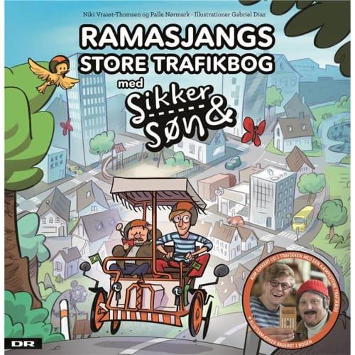 "Ramasjangs store trafikbog - med ""Sikker & Søn"" - Indbundet"