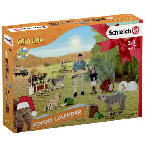 Schleich julekalender - Wild Life