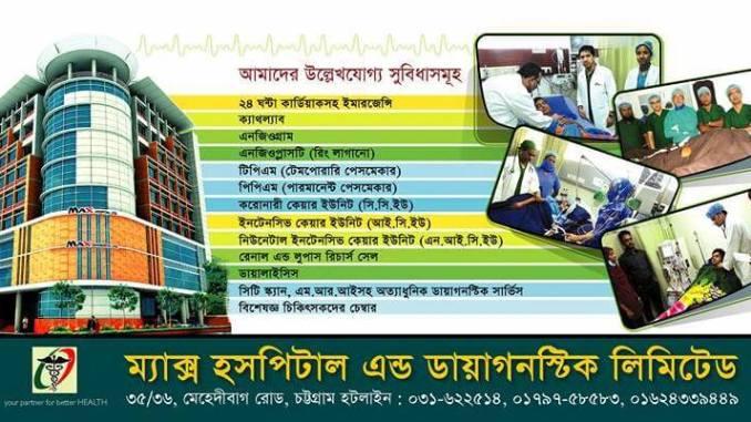 Max hospital and diagnostic center
