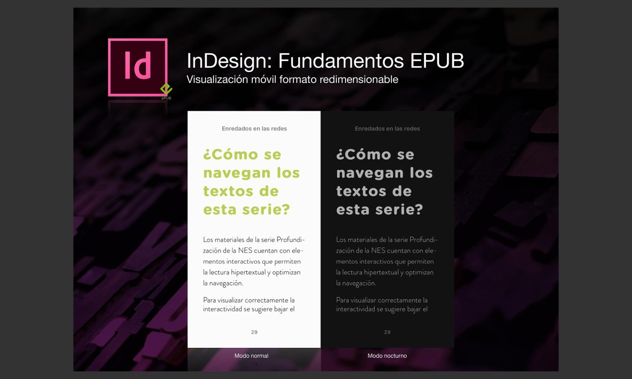 InDesign: Fundamentos EPUB