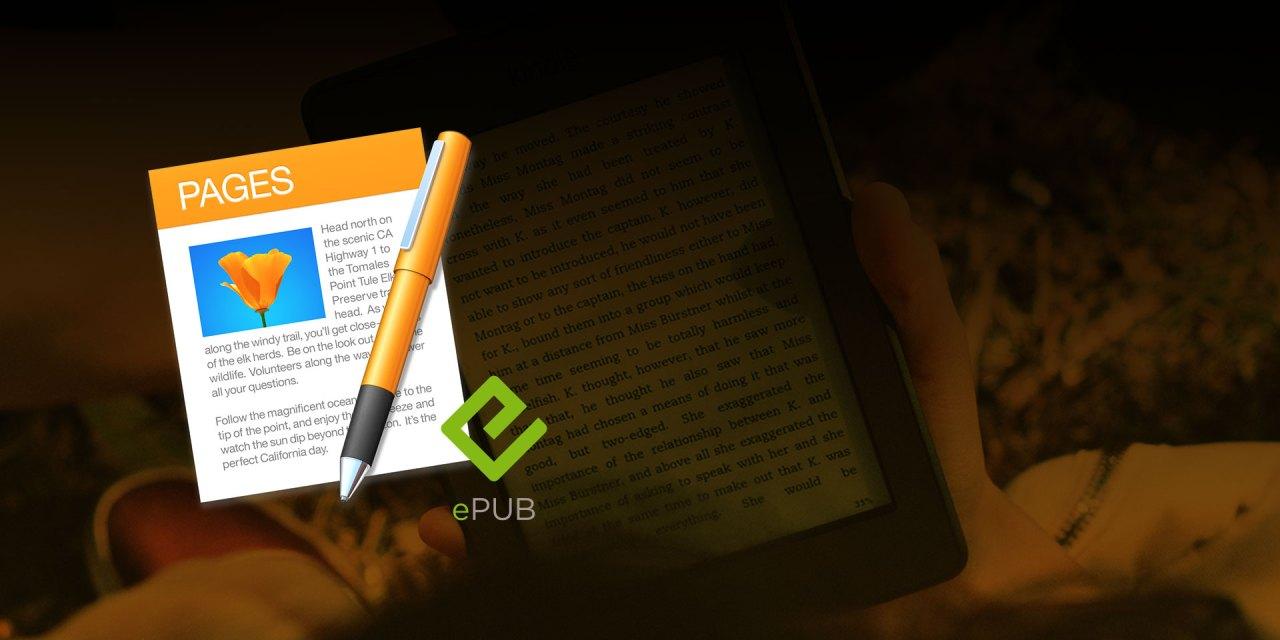 eBooks y libros electrónicos con Apple Pages