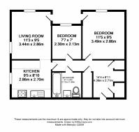 Ground floor, unfurnished 2 bedroom apartment - OX14 - Ref ...
