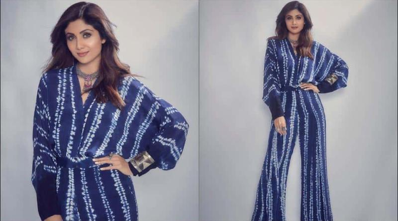 Shilpa Shetty Kundra adds her 'royal' twist to 'weekend vibes' in a Rs 25k Shibori pleated jumpsuit