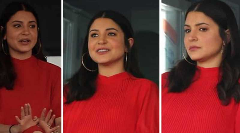 Mom-to-be Anushka Sharma cheers for Virat Kohli in blazing red dress at RCB vs SRH match. Get the affordable look in Rs 900