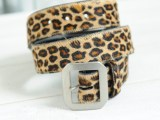 FK-GENUINE BELT (LEOPARD)