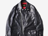 FK-W-RIDERS JKT/UK Ⅱ [BLACK] ¥185,000- [FRONT SIDE]
