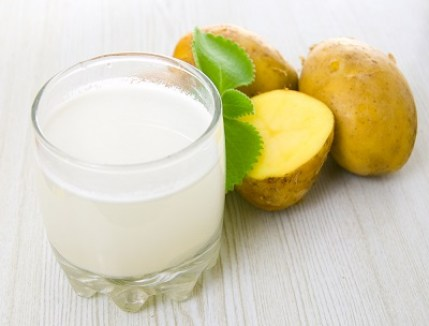 Potato Juice for Swelling