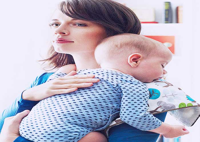 Burping for Improving Digestion in Babies